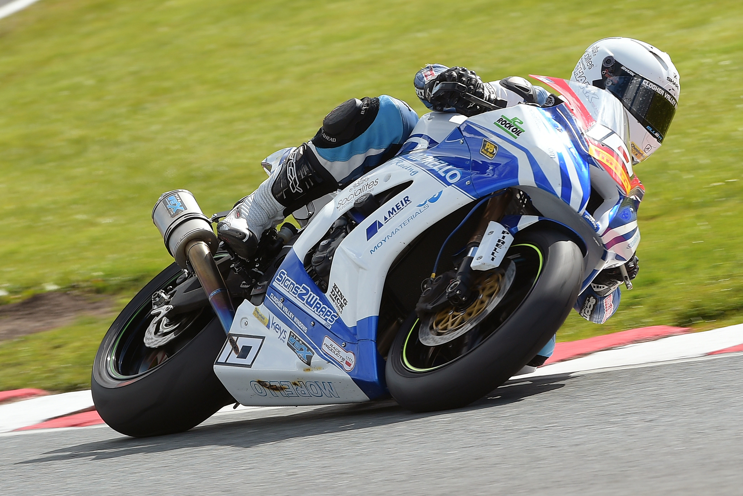 #10 Josh Elliott Morello Racing Kawasaki Pirelli National Superstock 1000